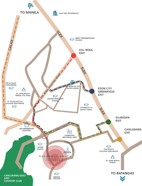 Rockwell South - Vicinity Map