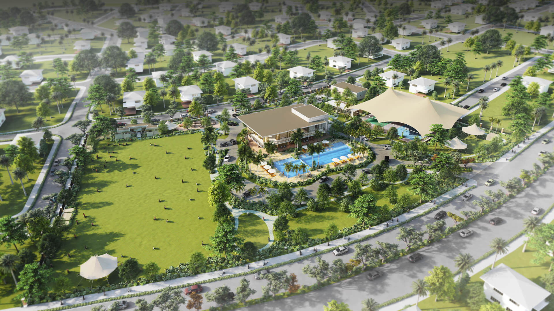 Rockwell South at Carmelray | Central Amenity
